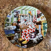 """VTG Ron Lee Carnival Of Clowns """"Putting'On A Pretty Face"""" World of Clowns Plate"""