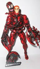 SPIDER-MAN the animated series CARNAGE II unmasked 1995 complete marvel toy biz