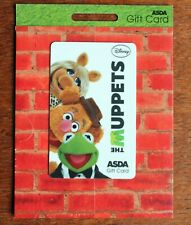 Asda Gift Card – Muppets - Mint on Card – Collect or Add Credit for Gift (Se4)