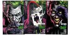 serie BATMAN: TRE JOKER completa 1/3 con CARDS Edizioni DC Panini Comics Italia