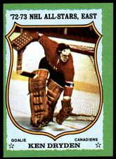 Ken Dryden 1973-74 Topps #10 Canadiens