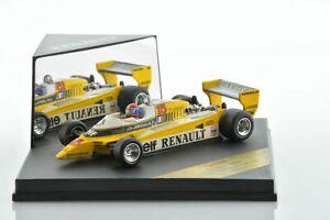 F1 RENAULT RE23 JABOUILLE Austrian GP 1980 1/43 QUARTZO