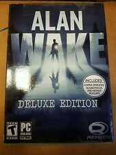 Alan Wake: Deluxe Edition (PC, 2012) Brand New and Factory Sealed - Fast Ship
