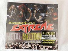 "Extreme ""Pornograffitti Live 25 / Metal Meltdown"" BRAND NEW! CD/DVD/Blu-Ray"