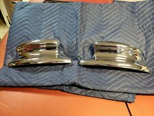 NOS 1946 1948 Lincoln Upper Front Bumper Ends 1947 Continental Zephyr H Series