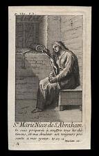 santino incisione 1700 S.MARIA DI EDESSA  mariette
