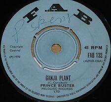 "PRINCE BUSTER ~ GANJA PLANT b/w CREATION ~ UK FAB SKA 7"" 1970"