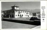 Santa Barbara CA Eaton's Restaurant Real Photo Postcard rpx