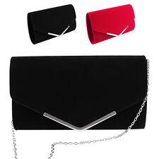 Women Lady Envelope Clutch Bag Chain Shoulder Evening Handbag Purse Casual Tote