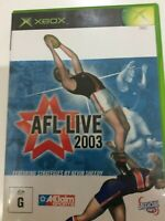 AFL Live 2003 XBOX Featuring Strategies by Kevin Sheedy
