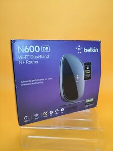 Belkin N600 DB WiFi Dual-Band N+ Router Ideal For Streaming Services