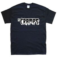 THE CRAMPS T-SHIRT sizes S M L XL XXL colours Black, White