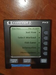 Concept 2 PM3 Rowing Monitor