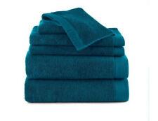izod classic 6-piece towel set - New Morning Glory blue