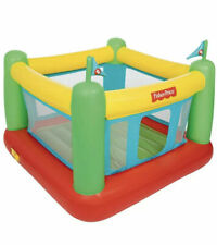 Fisher Price Bouncesational Bouncer Bestway Bounce House with Built-In Pump