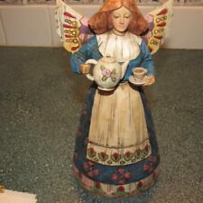 2002 JIM SHORE HEARTWOOD CREEK ANGEL OF HOSPITALITY #108919 ENESCO FIGURINE D2