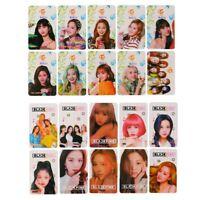 10PCS KPOP BLACKPINK TWICE Transparent Photo Cards PVC Cards Nice Photocards