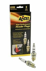ACCEL 8199 U-Groove Spark Plug Header Plug  8 Pack For Chevy Ford F150 Car Model