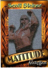 WWE Scott Steiner 2003 Fleer Matitude Event Used Mat Picture Card 9 of 50