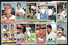 1976 OPC O PEE CHEE TOPPS MLB BASEBALL CARD ERROR & VARIATION 529-660 SEE LIST