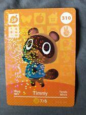 Animal Crossing Amiibo Card 310 Timmy