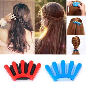 Tresse Cheveux Eponge Coiffure Twist Styling Rapide Chignon Facile DIY Outil
