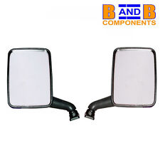 VW T25 CAMPER TRANSPORTER VAN DOOR MIRROR PAIR 1980 - 1990 C430