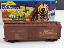 Athearn 5012 UP Union Pacific 40' Steel & Wood Box Car 184241 HO Scale