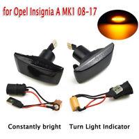2 X LED Side Marker Turn Signal Light Indicator For Opel Adam/Astra H/Insigina A