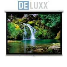 DELUXX Advanced SlowMotion Beamer Rolloleinwand 180  x 135 cm 4:3 HDTV - 19735