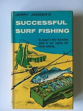 Successful Surf Fishing by Jerry Jansen (Dutton, 1964) Hardcover with DJ