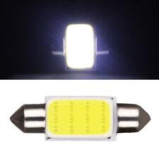 2Pcs/Set COB 3W 39mm Festoon Interior Dome LED Light Car Lamp Bulb White 39x14mm