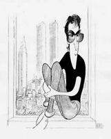 Al Hirschfeld's JOHN LENNON Hand Signed Limited Edition Lithograph