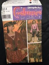 SIMPLICITY sewing pattern (4914) ladies COSTUMES
