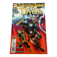 The Mighty Thor Everything Burns #18 Comic Book Marvel 2012
