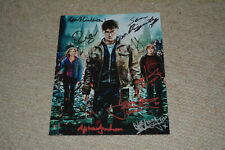 HARRY POTTER CAST 11x signed Autogramm 20x25 cm In Person EMMA WATSON , ISAACS