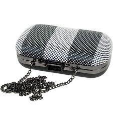 ESPRIT Disco Damen Tasche Abendtasche Hochzeitstasche Handtasche Kette Case Bag