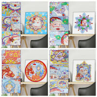 Christmas Special Shaped Diamond Painting DIY 5D Partial Drill Cross Stitch Kit