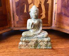 CAMBODIAN PURSAT MARBLE BUDDHA Hand Carved