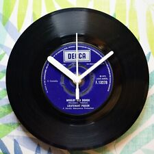 "Lieutenant Pigeon ""Mouldy Old Dough"" Retro Chic 7"" Vinyl Record Wall Clock"
