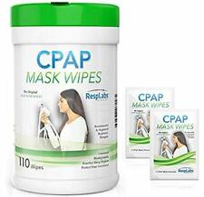 CPAP Mask Wipes - 110 Pack + 2 Travel Wipes Gift - FAST SHIPPING