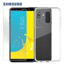 Protector de Pantalla Transparente Completo Cubierta/Parachoques Trasera Carcasa De Gel Para Todos Samsung Galaxy