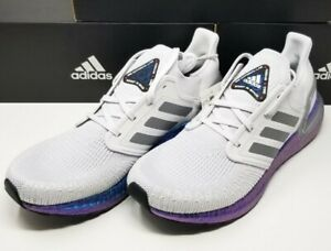 New Mens Size 10 Adidas Ultraboost 20 ISS US National Lab Boost In Space EG0755