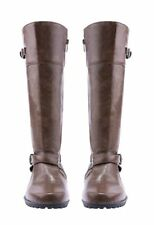 Women's Lady Sexy Long Knee High Boots Leather Office Work Winter Snow Shoes