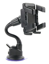 In-Car Holder For Samsung E1150i Phone With Extra Long Arm & Suction Cup Mount