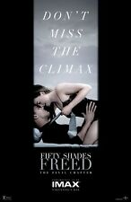 FIFTY SHADES FREED IMAX CURTAIN  11X17 MOVIE POSTER COLLECTIBLE