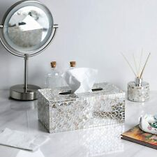 Mosaic Glass Tissue Holder Decorative Tissue Box Rectangular Covers/Box