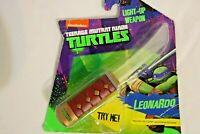 Teenage Mutant Ninja Turtles Light up Action Weapon Nickelodeon Leonardo