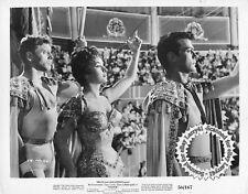 Burt Lancaster, curvy Gina Lollobrigida, Tony Curtis still TRAPEZE 1956 vintORIG