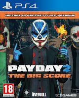 Pay Day 2 - The Big Score PS4 - LNS